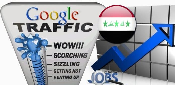 Buy Google iq Visitors (Organic Traffic) - Iraq