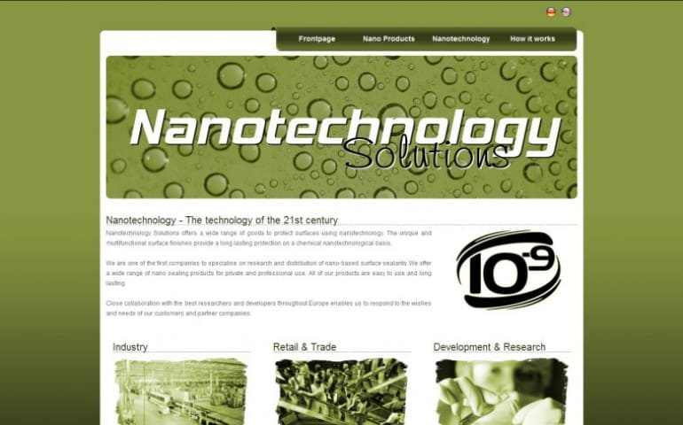 Nanotechnology Solutions